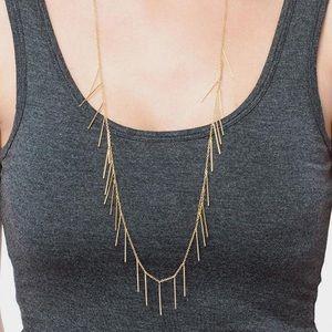 Gorjana Marmont Fringe Necklace